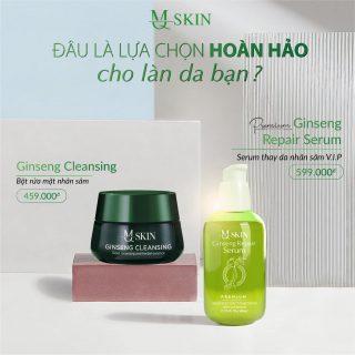 Bột rửa mặt mq skin