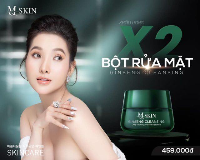 X2 KHỐI LƯỢNG Bột rửa mặt mq skin