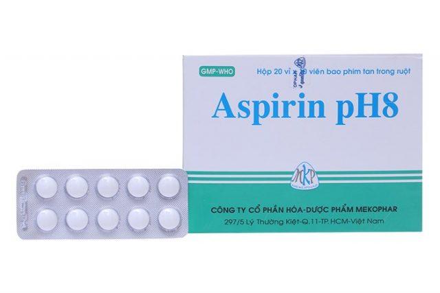 Thuốc aspirin ph8 làm trắng da