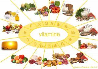 Vitamin bao gồm A, B, C, D3, E