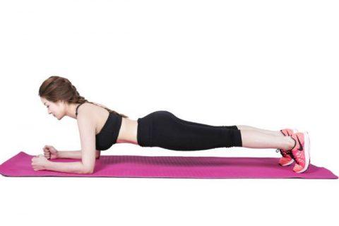 Plank tay gấp