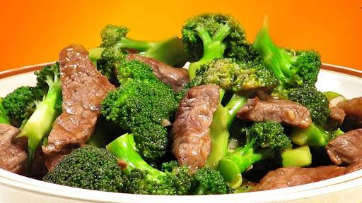 Bông cải xanh xào thịt bò
