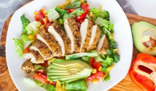Salad ức gà