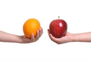 cam hoặc táo