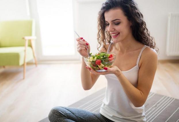 Nhai kỹ những món ăn chay giảm cân