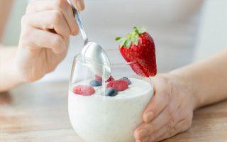 Dùng sữa chua sau bữa ăn 30 phút
