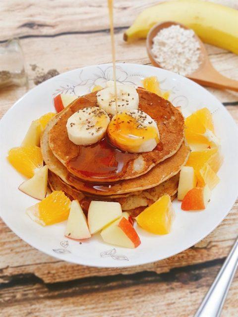 yến mạch giảm cân dạng pancake