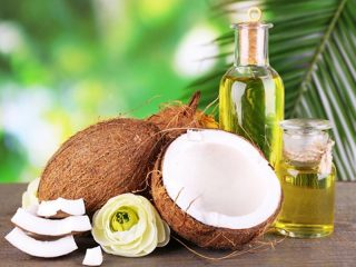 sử dụng dầu dừa thay cho các chất béo