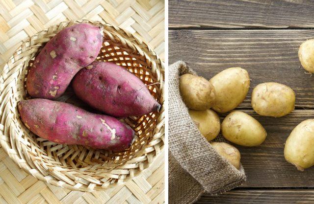 Ăn khoai lang thay khoai tây vào Bữa tối giảm cân