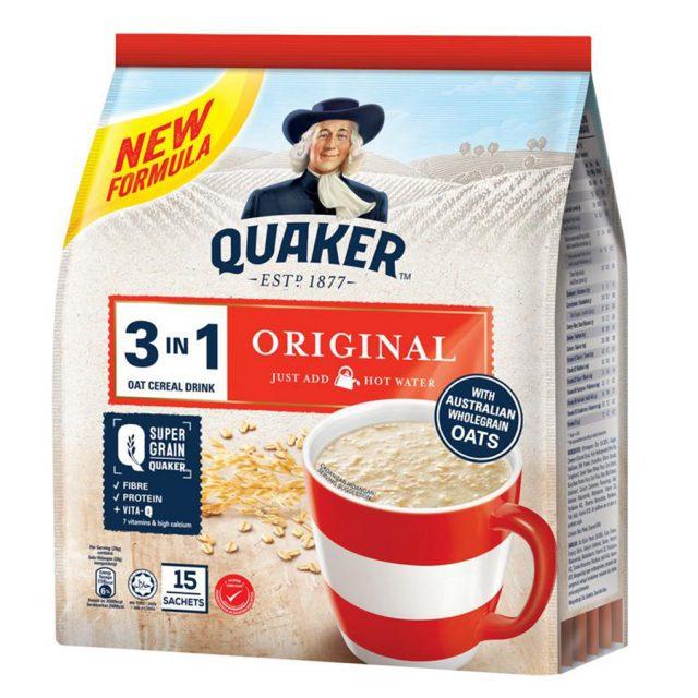 Thức uống yến mạch Quaker 3IN1